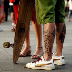 Adios Madrid (bottropx) Tags: madrid tattoo skating streetphotography tattoos skater tattoed streetphotographers nidalsadeqphotography