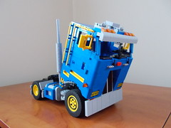 LEGO Peterbilt 362 (spongebrickpl) Tags: power lego technic functions peterbilt