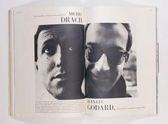 Jean-Luc Godard (elegantlypapered) Tags: photography newwave frenchvogue elegantlypapered