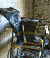 Fireman Boots (Forsaken Fotos) Tags: plant ny abandoned rusty explore crusty chemical chemicalplant hudsonvalley husdon nepera urxex neperachemicalplant nokialumia1020 dmoed