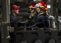 160512-N-FQ994-143 (CNE CNA C6F) Tags: firefighters gq investigators generalquarters flashgear ussporterddg78
