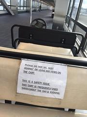 Ruley McRuleface (HockeyholicAZ) Tags: sign airport mine control dont stop stupid tsa selfish rule nofun prohibition prohibit nannystate