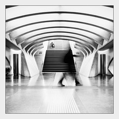 Trainsportation ... (kitchou1 Thanx 4 UR Visits Coms+Faves.) Tags: world street people architecture europe belgium trainstation