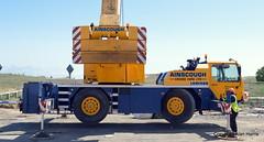 Liebherr LTM 1030 (urbanfox55) Tags: southshields mobilecrane ainscough liebherr1030
