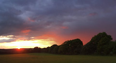 Stormy Sunset over Dorking (Twitter: @GrowLikeGrandad) Tags: sunset dorking stormclouds surreyhills