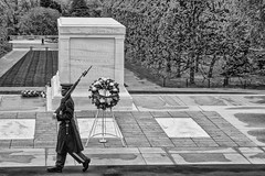 The Tomb of the Unknow Soldier (Alejandro Ortiz III) Tags: newyorkcity usa newyork alex brooklyn digital canon eos rebel washingtondc noir unitedstatesofamerica allrightsreserved tomboftheunknownsoldier lightroom alexortiz xti 400d canoneosrebelxti niksoftware tamronspaf1750mmf28xrdiiildasphericalifmodela16 lightroom3 promaster1750mmf28 promastertamron shbnggrth silverefexpro2 alejandroortiziii highstructureharsh ©2011alejandroortiziii