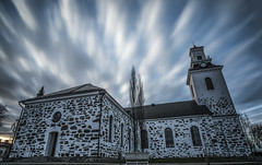 Spooky (Marc Sabat) Tags: church clouds long expo spooky filter horror d750 nd1000