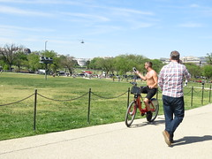 IMG_0408 (FOTOSinDC) Tags: shirtless man hot bike candid handsome biker shorts