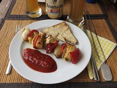 Hhnchenbrust-Paprika-Spiee (vom Grill) (multipel_bleiben) Tags: essen grillen gemse geflgel