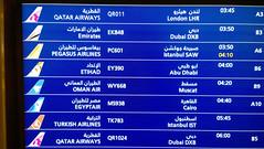 Gate 'B6' for the EY390 to   Abu Dhabi. (A380spotter) Tags: display  egyptair msr ms  emiratesairline uae ek  etihad etihadairways etd ey   omanair oma wy pegasusairlines flypgscom pgt pc qatarairways qtr qr turkishairlines trkhavayollarao thy tk departure gates airside concourse terminal1 one  hamadinternationalairport hia newdohainternationalairportndia othh doh  doha   dawlatqaar stateofqatar