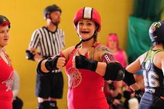 Mrs Kripling (sk8geek) Tags: rollerderby skaters pivot 43 blocker mrskripling