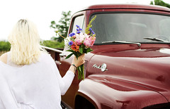 DSC_4835_1 (marlumiller) Tags: flowers summer portrait rural truck island model long outdoor country rustic greenport lifestyle narrative peonies bouqet layering