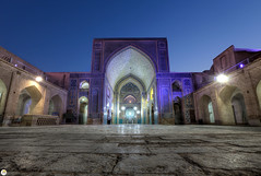 Jameh Mosque in Yazd, Iran (Calim*) Tags: iran muslim islam mosque