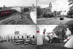 Een paar weken geled... (vanderaalstfotografie) Tags: city bus factory pins eindhoven philips bowling blob piazza 18 mediamarkt septemberplein