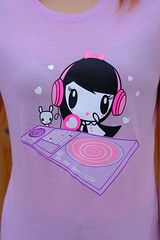 """DJ Lolligag & Mixmaster Moot"" Shirt (Lolligag World) Tags: fashion dj tshirt kawaii tee mixmaster hiphip lolligag womenstee"