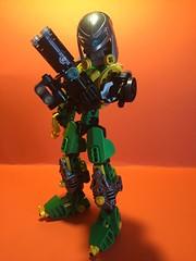 Kaon the Bounty Hunter (Toa Kaon) Tags: lego transformers bionicle toa moc metalgearsolid minecraft
