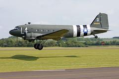 Douglas C-47A Skytrain (DC-3) N147DC / 2100884/L4-D (Andy C's Pics) Tags: duxford douglas skytrain dc3 l4d imperialwarmuseum iwm c47a n147dc 2100884