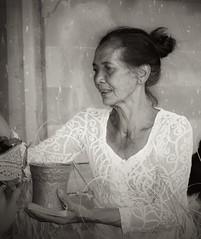 (scinta1) Tags: portrait people bali woman face indonesia temple person character traditional ceremony oldwoman kampung pura keluarga kintamani 2015 kedisan