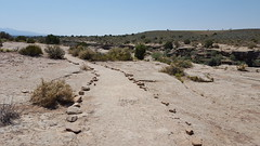 Peaceful trail at Hovenweep