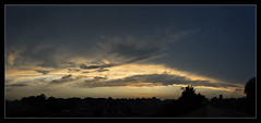 AR160663tm67_Panorama (-AR-) Tags: light sunset sky panorama sun color colour weather clouds evening licht zonsondergang dusk horizon wolken avond lucht zon schemering weer kleur schemer voorneputten