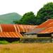 Derelict farm building #Peak District #Derbyshire #red