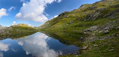 Laghi di Pianei (gramignacosy) Tags: mountain lake clouds lago nuvole piemonte riflessi montagna alpinelakes vco valleantrona laghettialpini laghidipianei