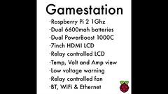 GS (Stahl80) Tags: retropie emulationstation raspberry linux adafruit nintendo sega n64 macintosh fan batteries battery lcd hdmi usb ethernet electronics speaker solder boot drawing emulator bluetooth volt amp diy project woodwork