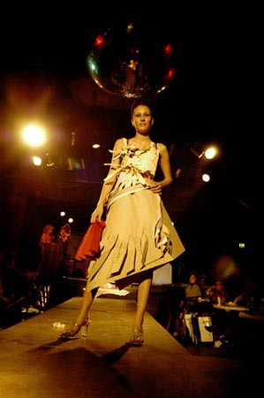 ADCD's 1st Annual Paper Fashion Show