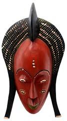 10Y_0920 (Kachile) Tags: art mask african tribal ctedivoire primitive ivorycoast gouro baoul nativebaoulmasksaremainlyanthropomorphicmeaningtheydepicthumanfacestypicallytheyarenarrowandfemininelookingincomparisontomasksofotherethnicitiesoftenfeaturenohairatallbaoulfacemasksaremostlyadornedwithvarioustrad