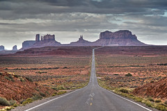 The Most Photographed Road in the World..(probably) (DWH284) Tags: utah monumentvalley mexicanhat southwestusa buttes ushighway163