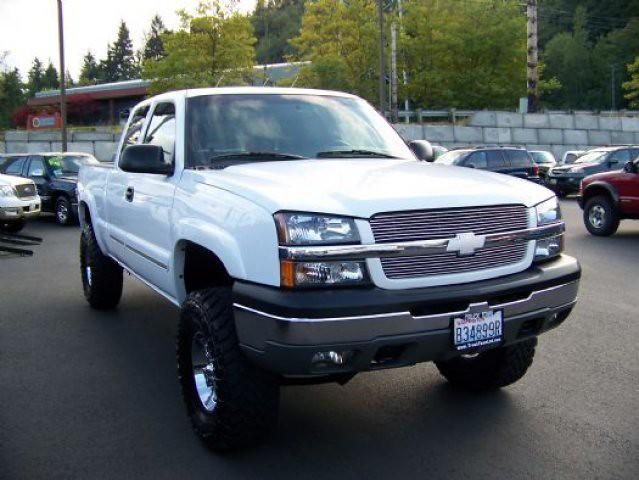 chevrolet 2004 4x4 silverado 1500 z71