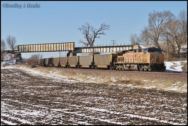 UP 6523 - Woodbine IA