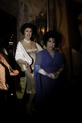 Liz Taylor Birthday Celebration in West Hollywood, CA