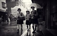 Kyoto Rain (Alberto Sen (www.albertosen.es)) Tags: street rain japan calle lluvia nikon kyoto alberto kioto japon sen d300s albertorg albertosen