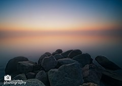Baltic Sea Sunrise (Chris Renk) Tags: sky beach water sunrise landscape photography nikon day time outdoor stones filter schleswigholstein ndg northerngermany holnis neutraldensitygraduated imagetype photospecs d700 coastalscape