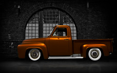 """Window  Shopping"" (Neil Banich Photography) Tags: cars ford car vintage automobile artistic pickup custom artcar hotrods ratrod autoart carscool 1954fordpickup picturescool neilbanichphotograhy imagescool"