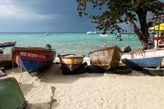 boats (picaddict) Tags: sea sand jamaica ocho rios darksky ochorios fishermensbeach