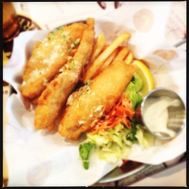 MANHATTAN FISH MARKET Fish and Chips  #sgigfoodies #lovefoodhatewaste #sgig #brunika #sgighalal #sghalal