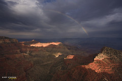 Rainbow at the Grand Canyon (djniks) Tags: rainbow grandcanyon nevada north grand canyon rim northrim caperoyal sigma1020 canon40d