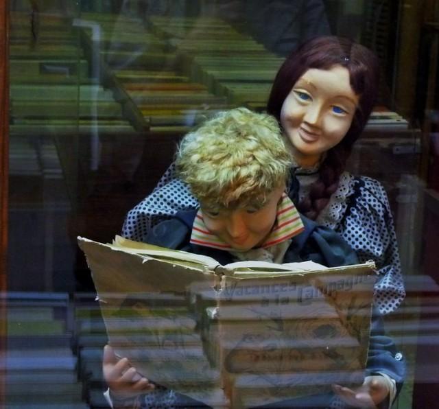 Le plaisir de la lecture ..