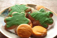 shamrocks and gold coins (TheFairView) Tags: cookies shamrocks stpatricksday potofgold