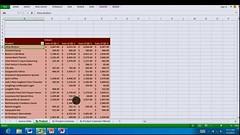 Office 15 auf Windows 8 on ARM - Excel
