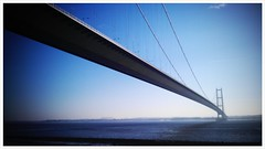 Humber Bridge in the Winter Sun