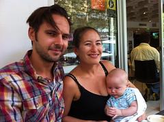Dan, Chezza and Sharkie