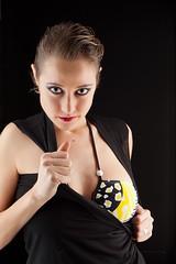 Rebeca y su mirada (75 y 76 EXPLORE - 12 y 13-02-2012) (Jose Casielles) Tags: estudio ojos mirada curso yecla rebeca sesin provocacin clavebaja fotografasjcasielles iluminacionprofesional