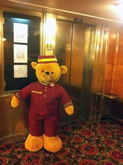 Queen Mary - elevator (ron.zima) Tags: our children for coach air free clean vehicles health carbon co2 asthma dioxide al macphee vicki change global warming climate expo green kids pat go air brian motor network clean dad childrens hockey ron industries robertson bowman uma idlefree zima idle macphee ziska gillis chato mci