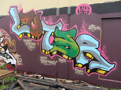 LUTER (Same $hit Different Day) Tags: graffiti bay east lute atb htf luter