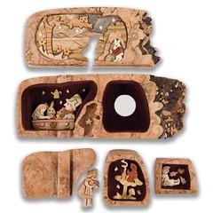 M1202-5 (AmericanArtMarketing) Tags: woodenbox woodbox woodenpuzzle puzzleboxes richardrothbard boxology designerbox woodenpuzzlebox woodpuzzlebox