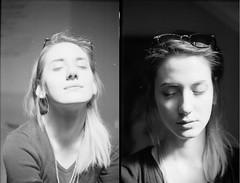 Dukarion (Iskra Zauvek) Tags: light blackandwhite face analog self