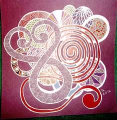 Zentangle #03 2-6-12